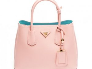 Prada Double Bag In Saffiano Cuir